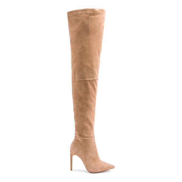 "RAYE Thatcher Boot - ""Suede upper with leather sole. Side zip closure. Heel..."