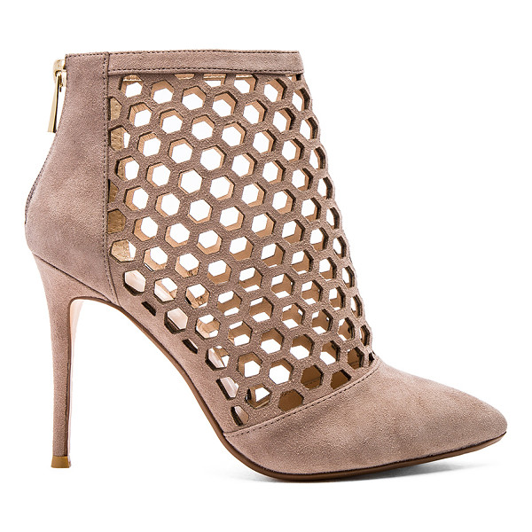 RAYE Tobi pump - Suede upper with man made sole. Honeycomb laser cut-out...
