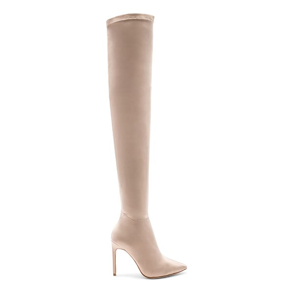 "RAYE Sable Boot - ""Sky high dreams achieved with RAYE's Sable Boot. A satin..."