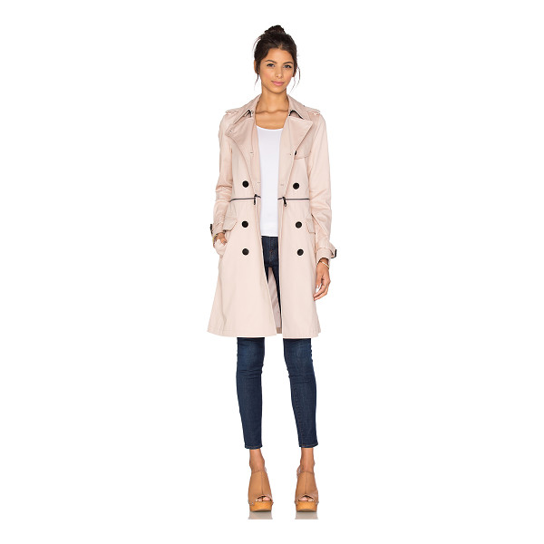 REBECCA MINKOFF Melissa trench - Shell: 100% cottonLining: 100% poly. Professional dry clean...