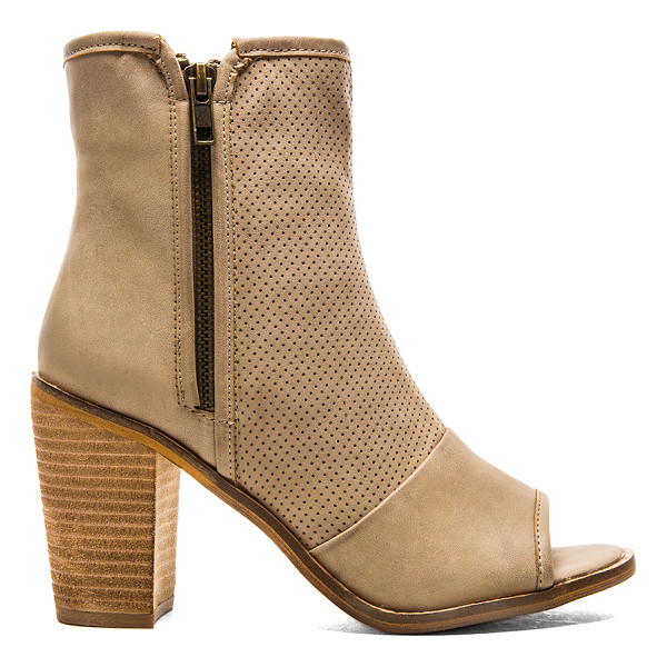 REBELS Haight Bootie - Perforated faux leather upper with man made sole. Heel...