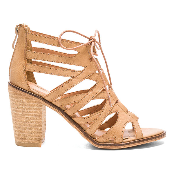 REBELS Yale sandal - Faux leather upper with man made sole. Lace-up front with...