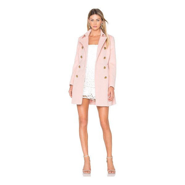 RED VALENTINO Double Breasted Coat - Shell: 46% alpaca 34% wool 20% polyamideLining: 67% acetate...