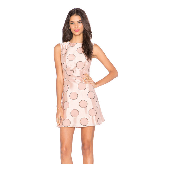 RED VALENTINO Polka dot party dress - Self: 49% viscose 34% polyamide 17% polyLining: 100% poly....