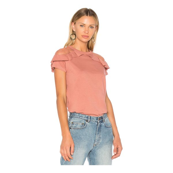 RED VALENTINO Ruffle Detail Top - Transform casual jeans or prep up your trousers with Red...