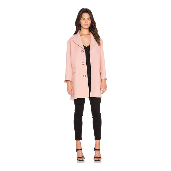 RED VALENTINO Single breasted coat - Self: 100% woolLining: 67% acetate 33% poly. Dry clean...