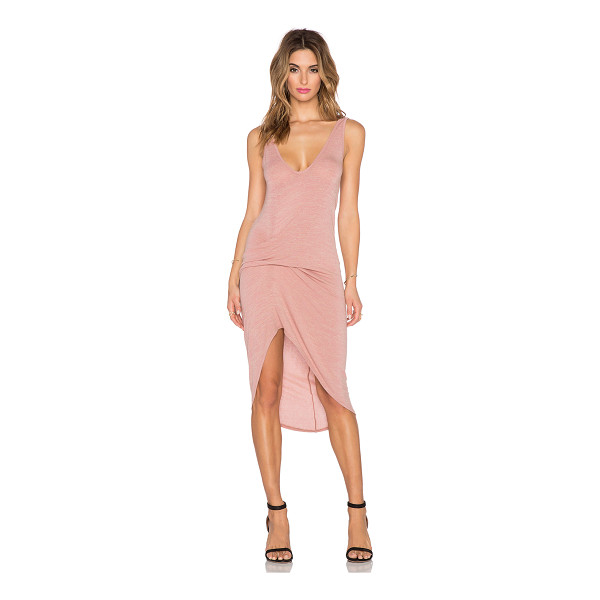 RILLER & FOUNT Cristiano dress - 74% rayon 21% poly 5% spandex. Dry clean only. Unlined....