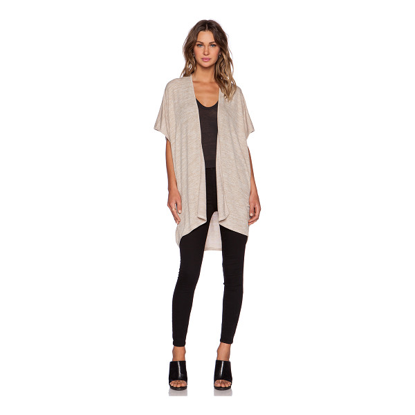 RILLER & FOUNT Emiliio cardigan - 74% rayon 21% poly 5% spandex. Dry clean only. Open front....