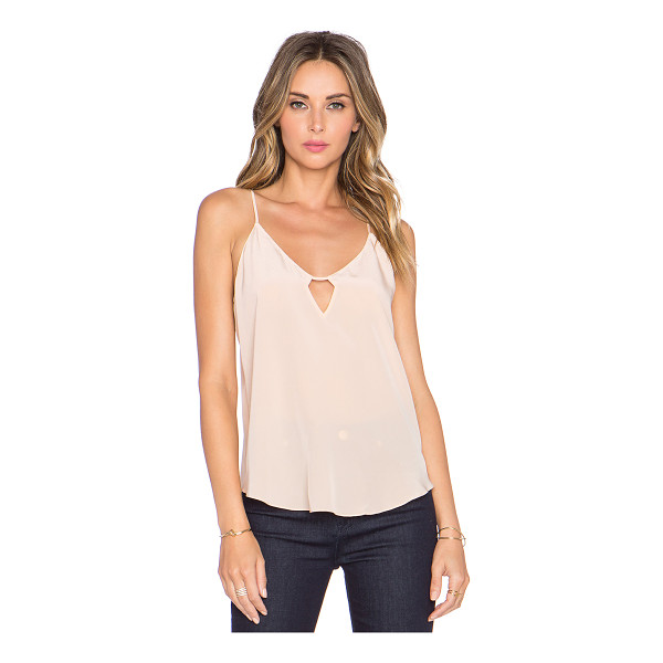 RORY BECA Eisley tank - 100% silk. Dry clean only. Adjustable shoulder straps....