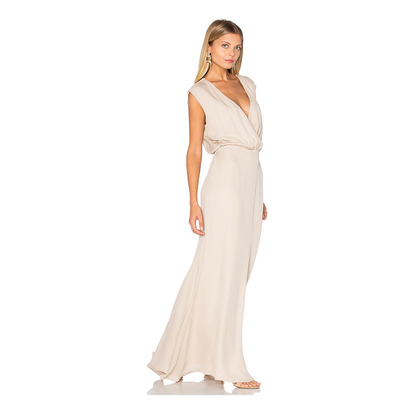 RORY BECA MAID by Rory Beca Venice Gown - Self: 100% silkLining: 100% rayon. Dry clean only. Fully...