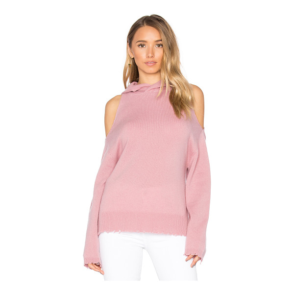 RTA Juno Distressed Sweater - Remain ever the goddess of casual luxury in the RtA Juno...