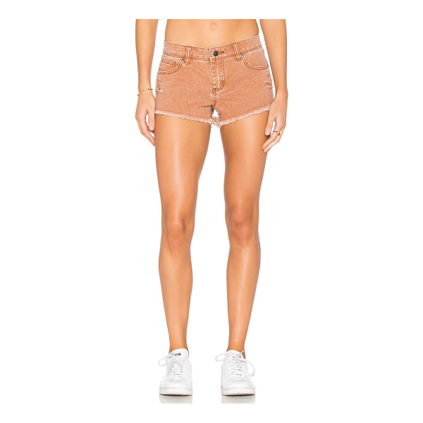 RVCA Hellow Mellow Short - 100% cotton. Front and back pockets. Intentionally...