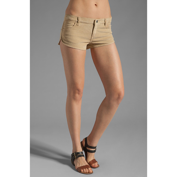 "RVCA Street scene corduroy short - 98% cotton 2% elastane. Shorts measure approx 7.5"""" in..."