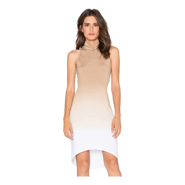 SAINT GRACE Kaya dress - Cotton blend. Unlined. Asymmetrical hem. SAIN-WD266....