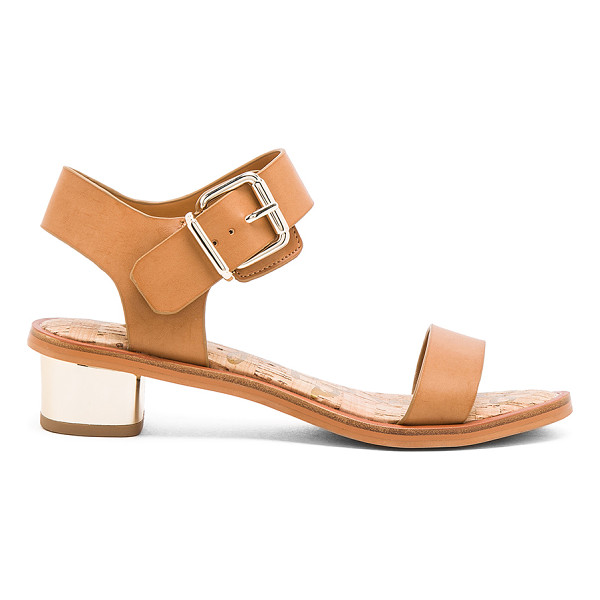SAM EDELMAN Trixie sandal - Man made upper and sole. Ankle strap with buckle closure....