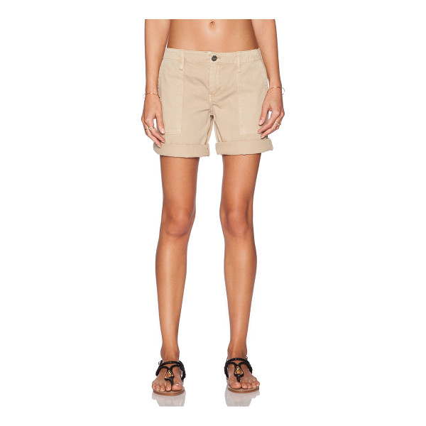 "SANCTUARY Peace bermuda short - 100% cotton. Shorts measure approx 17"""" in length. Side..."