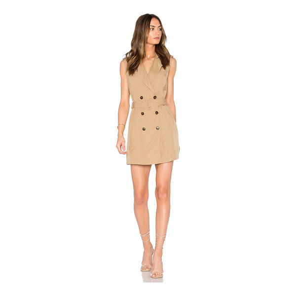 SAYLOR Briella Mini Dress - Poly blend. Dry clean only. Fully lined. Front button...