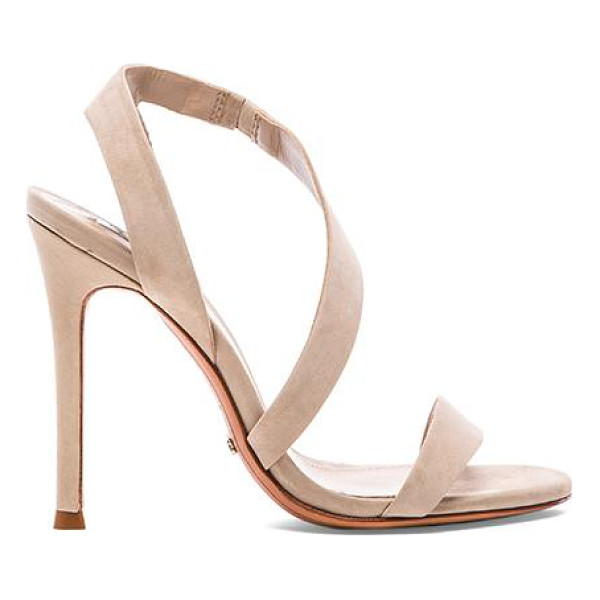 """SCHUTZ Tabacema heel - Leather upper and sole. Heel measures approx 4.5"""""""" H...."""