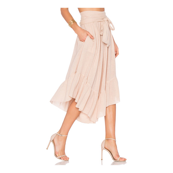 SEE BY CHLOE Wide Leg Cropped Pants - 70% viscose 30% wool. Dry clean only. Waist tie. Side seam...