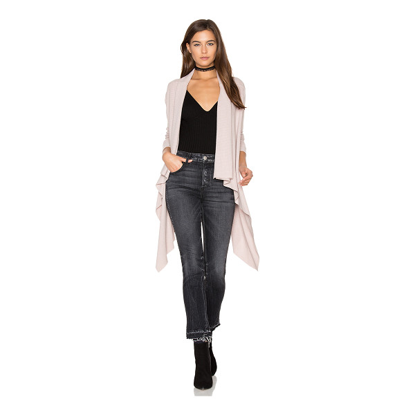 SEN Phoenix Cardigan - 62% modal 33% poly 5% spandex. Dry clean only. Open front....