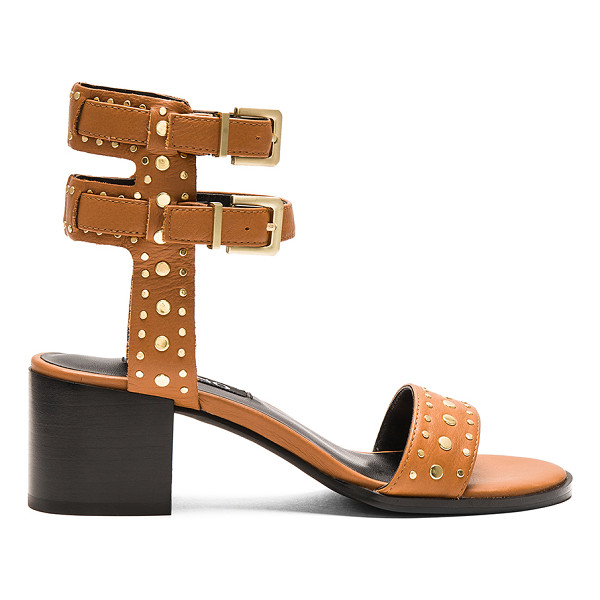 SENSO Jillie Heel - Leather upper with man made sole. Double ankle straps with...