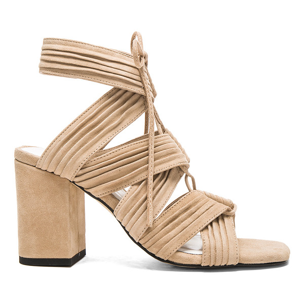 SENSO Rory heel - Suede upper with man made sole. Lace-up front with tie...