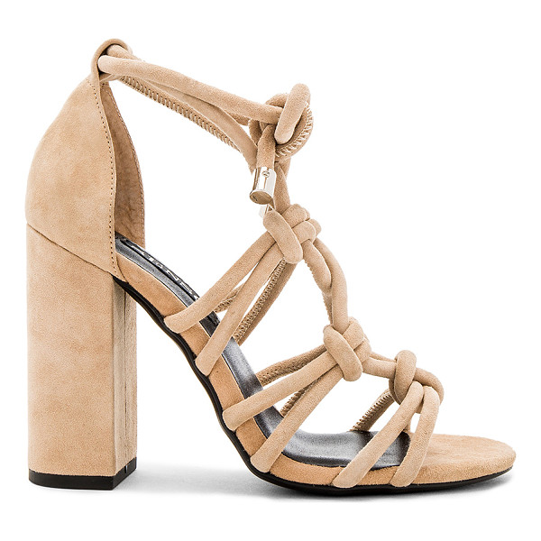 SENSO Vanita Heel - Suede upper with man made sole. Lace-up front with tie...