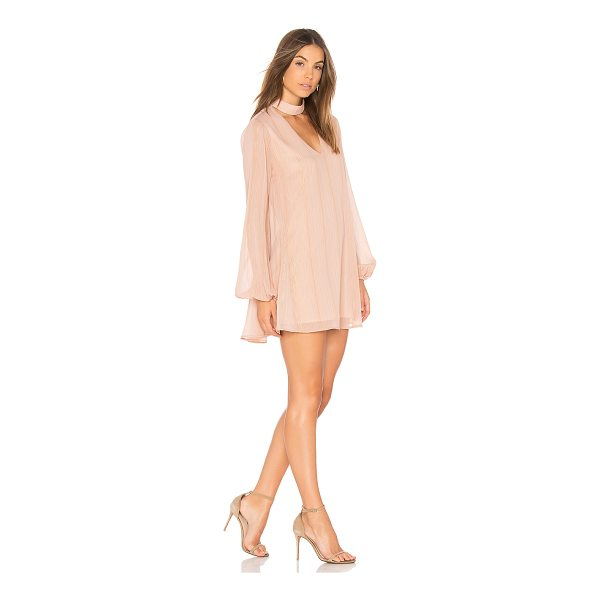 SHOW ME YOUR MUMU Josephine Bell Dress - Poly blend. Dry clean only. Fully lined. Neckline cut-out....