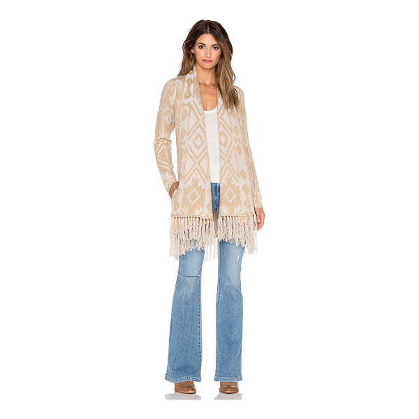 SHOW ME YOUR MUMU Nevada sweater - 100% acrylic. Hand wash cold. Open front. Tassel fringe...