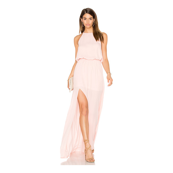 SHOW ME YOUR MUMU x REVOLVE Heather Dress - 100% poly. Hand wash cold. Partially lined. Halter strap...
