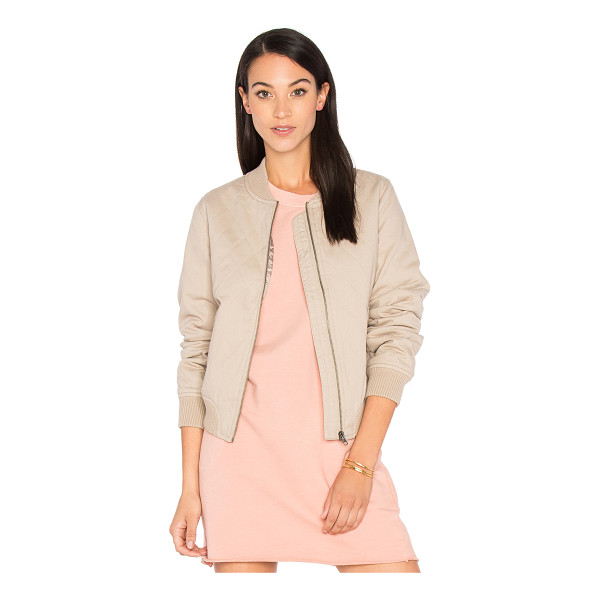 SINCERELY JULES Girl Bomber - Self: 100% cottonLining & Padding: 100% poly. Front zip...