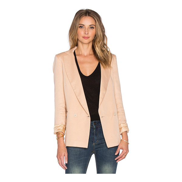 SINCERELY JULES Riley blazer - 100% tencel. Dry clean recommended. Front double breasted...