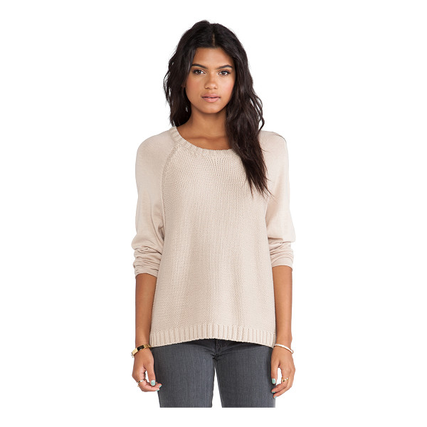 SOFT JOIE Weisend sweater - Cotton blend. Rib knit edges. SOFT-WK50. 6530 27803. You...
