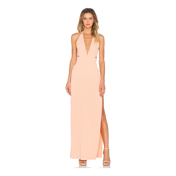 SOLACE LONDON Hall Maxi Dress - Poly blend. Unlined. Back hidden zipper closure. Back...