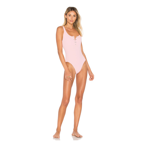 SOLID & STRIPED Solid & STAUD The Veronica One Piece - Self: 80% polyamide 20% elastaneLining: 85% polyamide 15%...