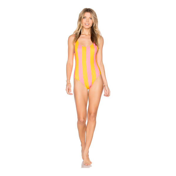 SOLID & STRIPED The Anne Marie One Piece - Polyamide blend. Hand wash cold. Stretch fit. SLST-WX111....