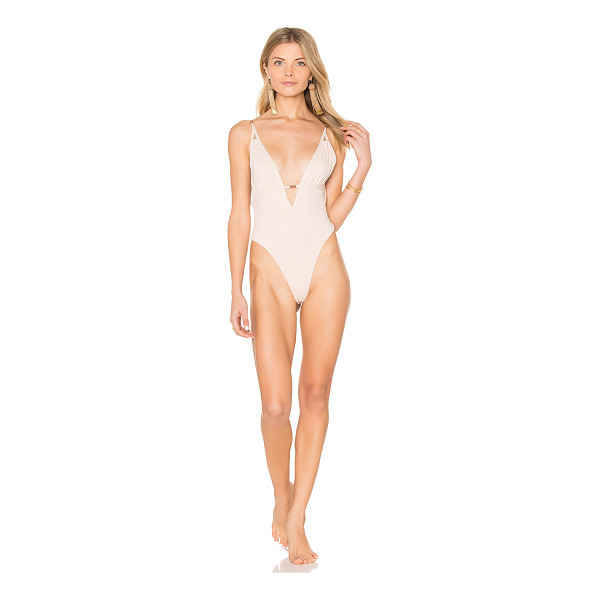 SOMEDAYS LOVIN Blooming Dunes One Piece - Nylon blend. Hand wash cold. Stretch fit. Adjustable...