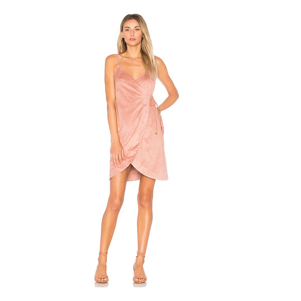 SOMEDAYS LOVIN Dance at Dusk Wrap Dress - 97% poly 3% elastane. Dry clean only. Unlined. Adjustable...