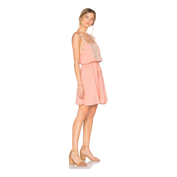 SOMEDAYS LOVIN Sun Beams and Daydreams Dress - 100% viscose. Hand wash cold. Fully lined. Elasticized...