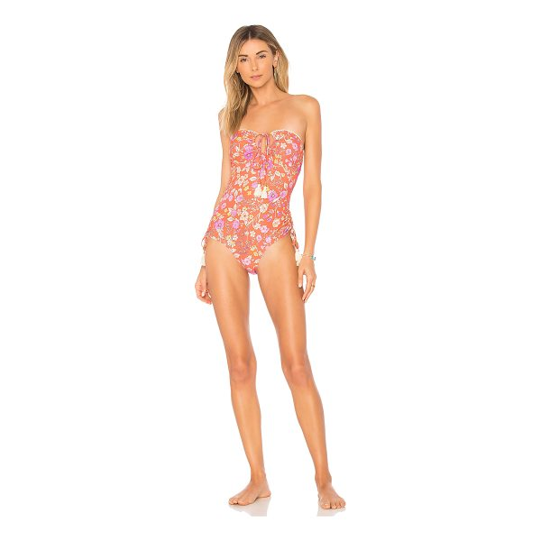 SPELL & THE GYPSY COLLECTIVE Flower Child Bandeau One Piece - Self: 87% polyamide 13% elastaneLining: 92% poly 8%...