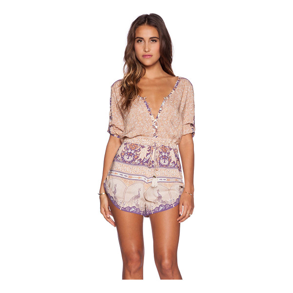SPELL & THE GYPSY COLLECTIVE Xanadu playsuit - 100% rayon. Hand wash cold. Front button closure....
