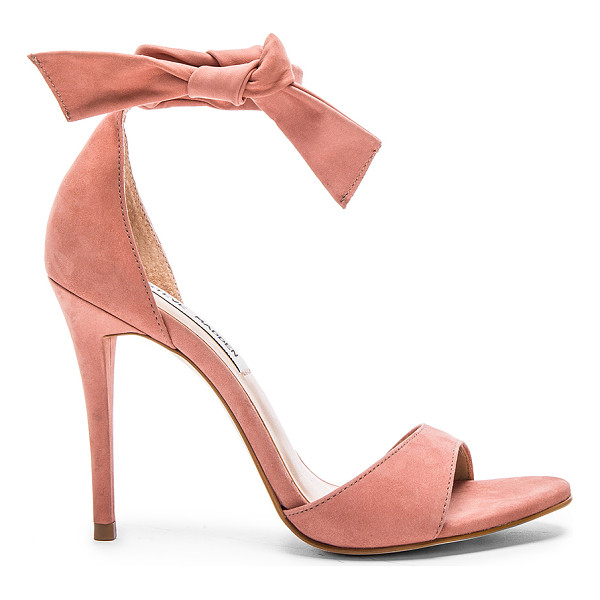 STEVE MADDEN Bowwtye heel - Leather upper with man made sole. Ankle strap with tie...