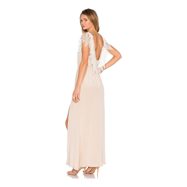 STONE COLD FOX Penelope Gown - Self: 100% rayonContrast: 100% nylon. Dry clean only....