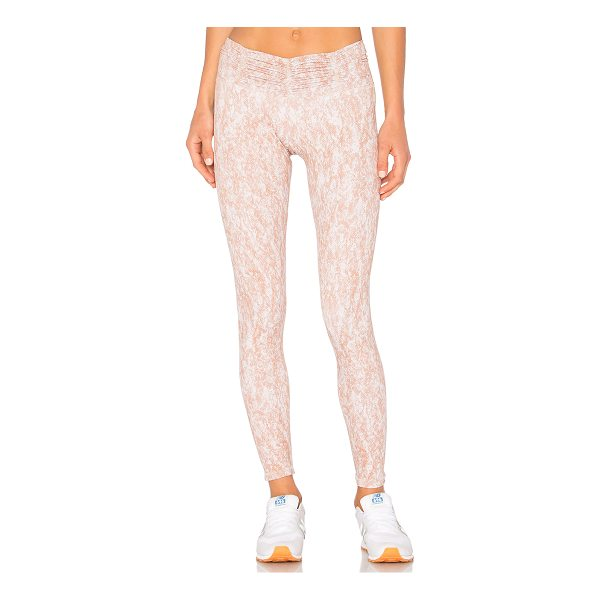 STRUT-THIS The Hudson Legging - Spandex blend. Hand wash cold. Shirred waistband. Stretch...