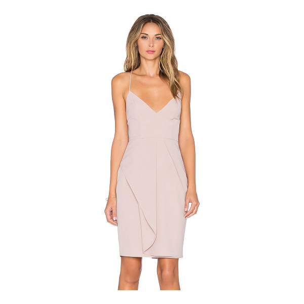 STYLE STALKER Goldstein dress - Self: 96% poly 4% spandexLining: 100% poly. Fully lined....