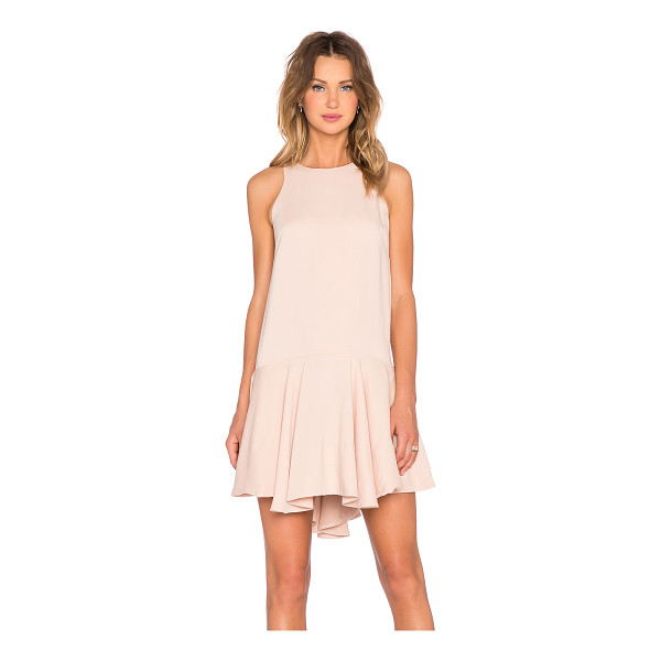 STYLE STALKER Rem shift dress - Poly blend. Dry clean only. Fully lined. Exposed back...
