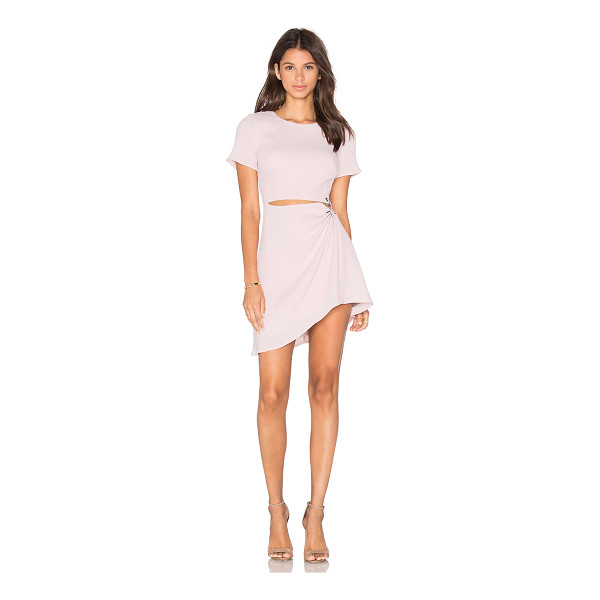 STYLE STALKER Thea Dress - Cotton blend. Dry clean only. Fully lined. Waist cut-out...