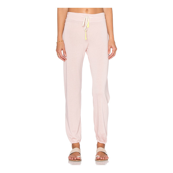 SUNDRY Drawstring sweatpant - 37% tencel 35% cotton 28% rayon. Drawstring waist....