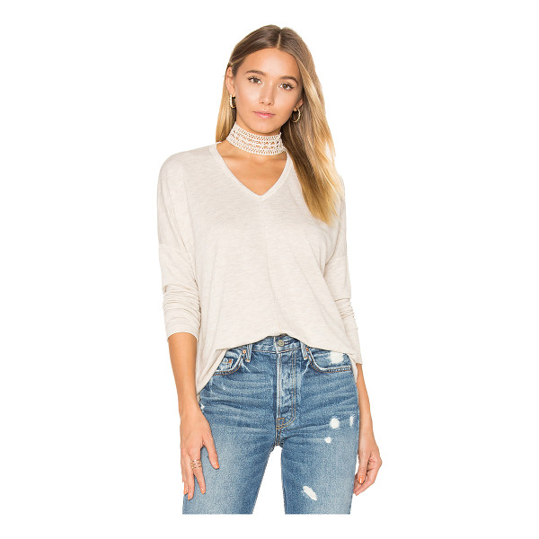 SUNDRY Terry Long Sleeve - 76% viscose 24% poly. Slub knit fabric. SDRY-WS324. 86 609....