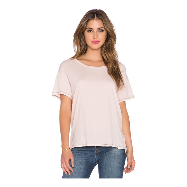 SUNDRY Vintage loose tee - 100% cotton. SDRY-WS222. 13G 0115. Born in South of France,...